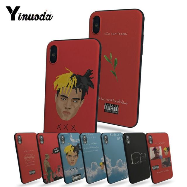 Yinuoda XXXTentacion Luxury High-end Protector phone Case For Apple iphone 7 7plus X 8 8plus 6s 6 6plus 5 5s 5c