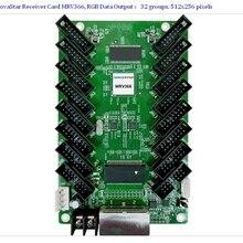 Новая полноцветная светодиодная приемная карта, NovaStar приемник карты MRV366 поддержка 512x256 пикселей