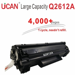 4000 pages Grande Capacité 12a Q2612a Cartouche De Toner compatible Hp Laserjet 1010 1018 1020 3015 3050 1300 M1005 MULTIFONCTION Imprimante
