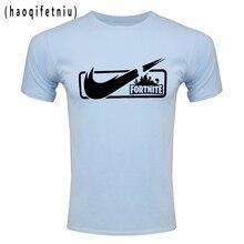 Fortnite Brands Men T shirt Casual short sleeve men's print t shirts
