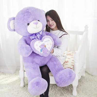 large 100cm love heart teddy bear plush toy bear doll soft hug toy pillow, birthday gift x043 usa flag teddy bear plush toy brown bear doll large 75cm soft throw pillow valentine s day present birthday gift w5462