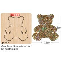 Cute bear  cutting dies 2019 die cut & wooden Suitable for common machines on the marke