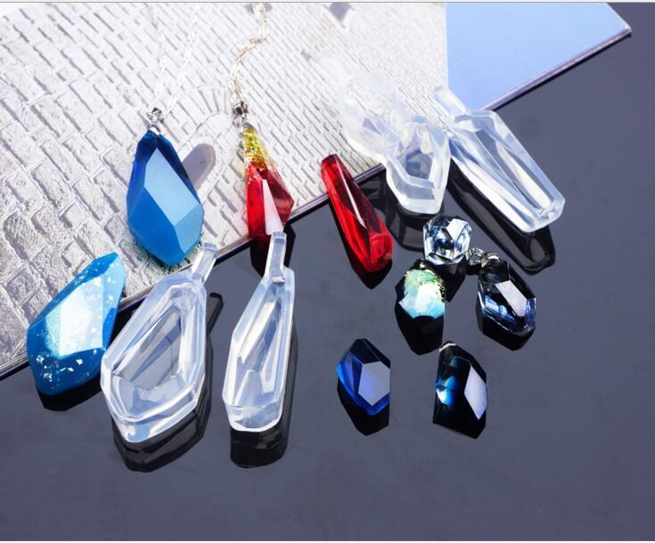 4 шт., различные формы, кабошоны, силиконовая серьга, ожерелье, подвеска, форма для эпоксидной смолы, Изготовление поделок своими руками|Инструменты и оборудование для украшений|   | АлиЭкспресс - Форма для эпоксидной смолы
