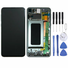 Original AMOLED LCD for SAMSUNG Galaxy S10 Display Touch Screen Digitizer with Frame Replacement LCD G973 Display original amoled lcd for samsung galaxy s10 plus display touch screen digitizer with frame replacement lcd g975 display