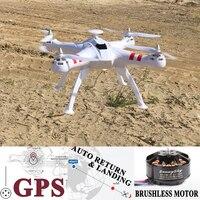 BAYANGTOYS X16 gps Радиоуправляемый Дрон с 1080 P HD Камера безщеточный 2,4 г 4CH 6 оси Quadcopter RTF автоматический возврат костюм для Gopro