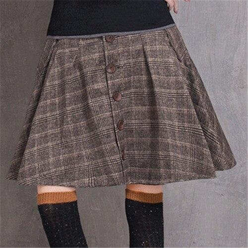 Online Get Cheap Plaid Wool Skirt -Aliexpress.com | Alibaba Group