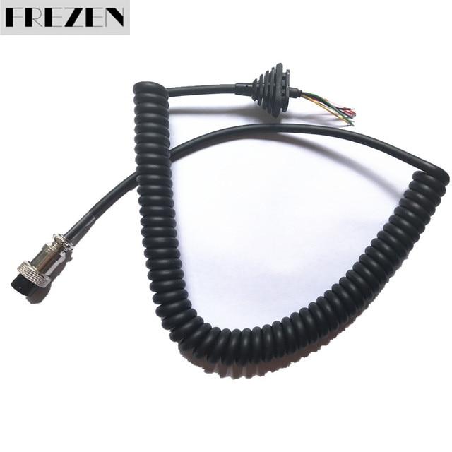Sostituzione generico Microfono Cavo del Cavo del Legare Per Alinco Radio EMS-57 EMS-53 DR635 DR620 DR435