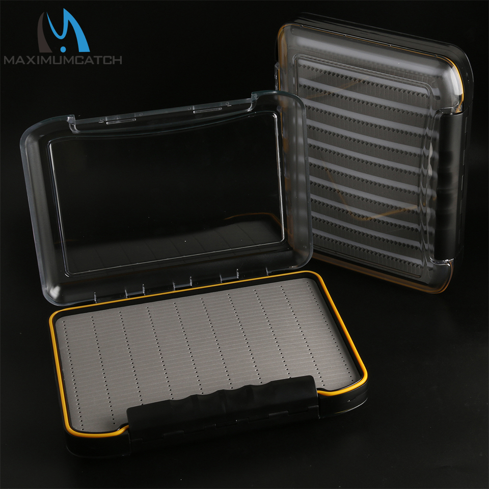 Maximumcatch PDS Waterproof Super Fly Suitcase Box Double Size 296*210*50mm коробка для мушек snowbee slit foam compartment waterproof fly box x large