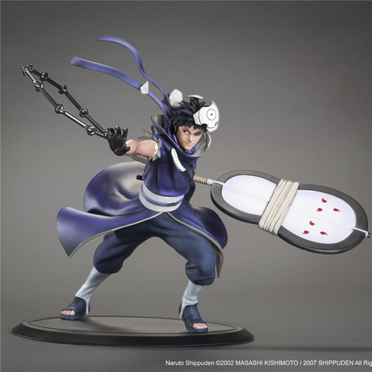 18cm <font><b>Naruto</b></font> Shippuden <font><b>Uchiha</b></font> <font><b>Obito</b></font> <font><b>Anime</b></font> <font><b>Action</b></font> <font><b>Figure</b></font> <font><b>PVC</b></font> Collection Model toys for christmas gift free shipping