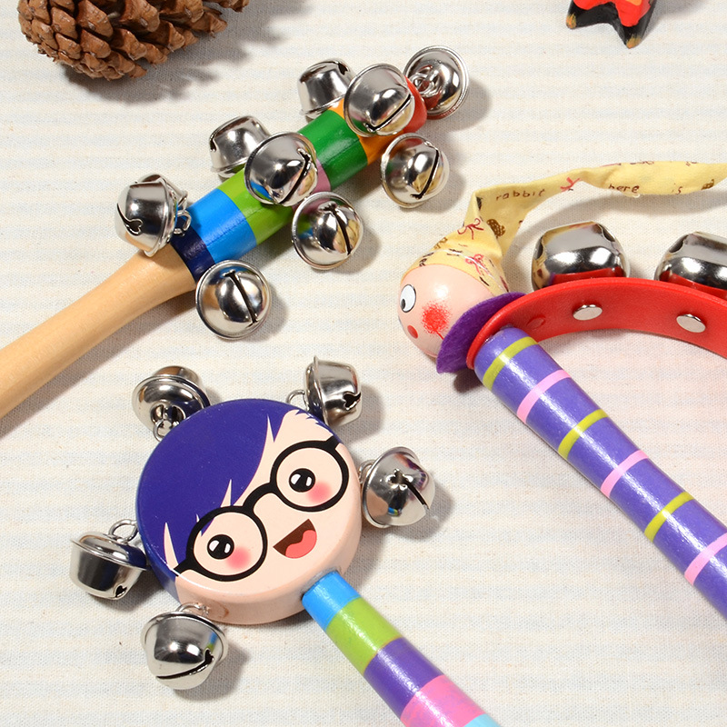 World Percussion Musical Instrument Educational Wooden Music Early Learning Education Development Toys For Kids Child Baby Gift