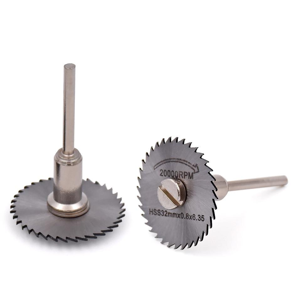 5pcs mandrino a vite per accessori per utensili rotanti in acciaio - Lama per sega - Fotografia 3