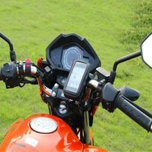 Novo design À Prova D Água Saco GPS Saco de Suporte Do Telefone Suporte Do Telefone Da Bicicleta Da Bicicleta Da Motocicleta Guiador Suporte Moto Montagem slots de Cartão