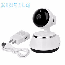 Hot Selling! 720P PTZ easy to install p2p indoor WiFi Wireless IP camera with APP for baby Best Price Top Quality #Jan11