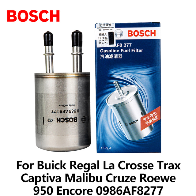 bosch car fuel filter for buick regal la crosse trax captiva malibu cruze  roewe 950 encore