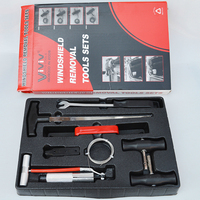 Windshield disassembly group broach set Demolition car glass tool Wire cable detacher