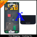 Número de pista + 100% probado Original Para Samsung Galaxy S5 mini G800 G800F LCD Digitalizador Asamblea con el botón home-blanco/Negro