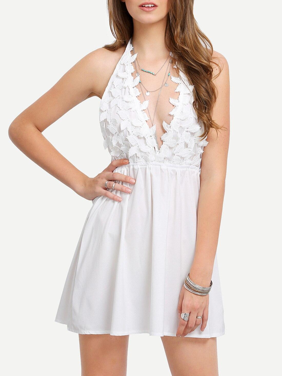 New Summer Dress Women Slim Sleeveless Halter Robe