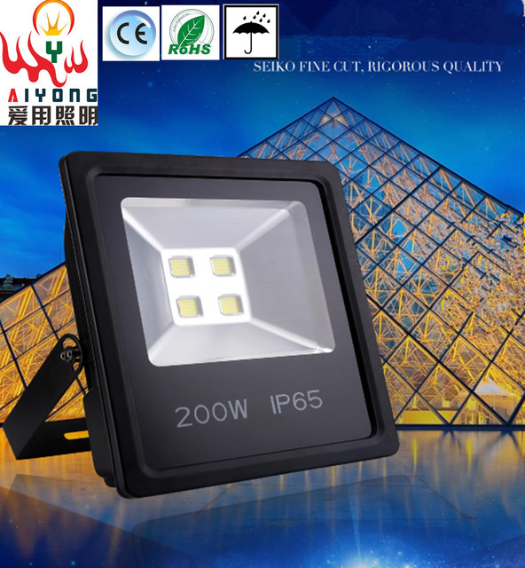 150w 200w Led Floodlight Stadium Lights Outdoor Advertising Lighting Basketball Courts Waterproof Free Shipping