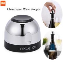 Originele Xiaomi Mjia Cirkel Vreugde Mousserende Wijn Mini Champagne Stopper CJ JS02 1/Doos Voor Xiaomi Smart Home Kits Gift