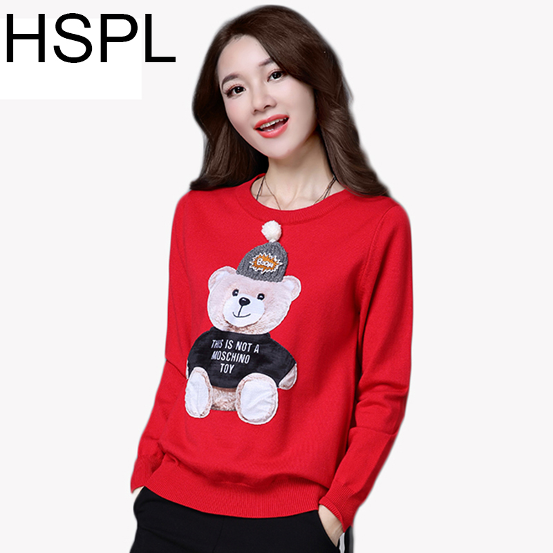 Women Sweater Pullover Cashmere Jumper Embroidery Knitted Elegant Sweaters Tops Female Long Sleeve Short womens knitwear 2017 ...