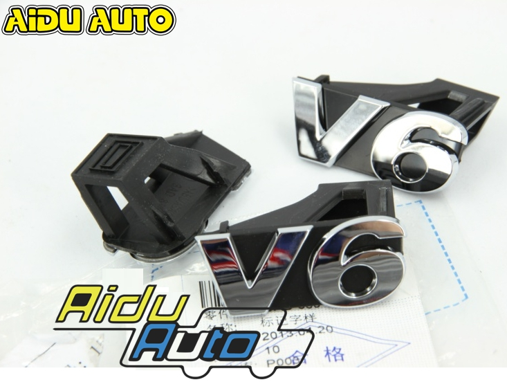 AIDUAUTO V6 3.0 Grille Front and Rear label sticker FOR Passat B7 CC