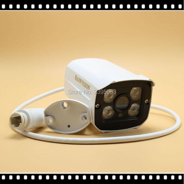H.264 HD 2MP 1080 P Cámara IP POE Exterior IP66 Red 1920*1080 Bala de Seguridad CCTV Cámara P2P/ONVIF Visión Nocturna 4 Array LED