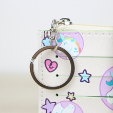 Unicorn Patterned Card Holder Purse