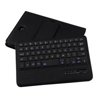 Factory Price Folio Leather Case Bluetooth Keyboard For Samsung Galaxy Tab S2 8 0inch T710 Sept16