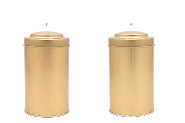 80x145 мм уникальный дизайн Круглый жестяная чайная банка еда конфеты кофе металлическая коробка для хранения герметичные