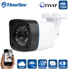 Cámara IP 720 P HD Completo Al Aire Libre Impermeable de la Bala 3.6mm Lente IR Cut P2P ONVIF CCTV Carcasa de Plástico ABS sistema de cámara