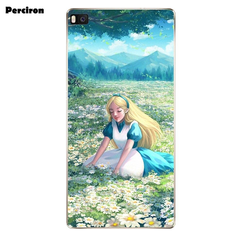 US $1 99 |Stay Weird Alice In Wonderland Nebula TPU Case For Huawei G7 G8  Honor 5A 5C 5X 6 6X 7 8 V8 Mate 8 9 P7 P8 P9 P10 Lite Plus-in Half-wrapped