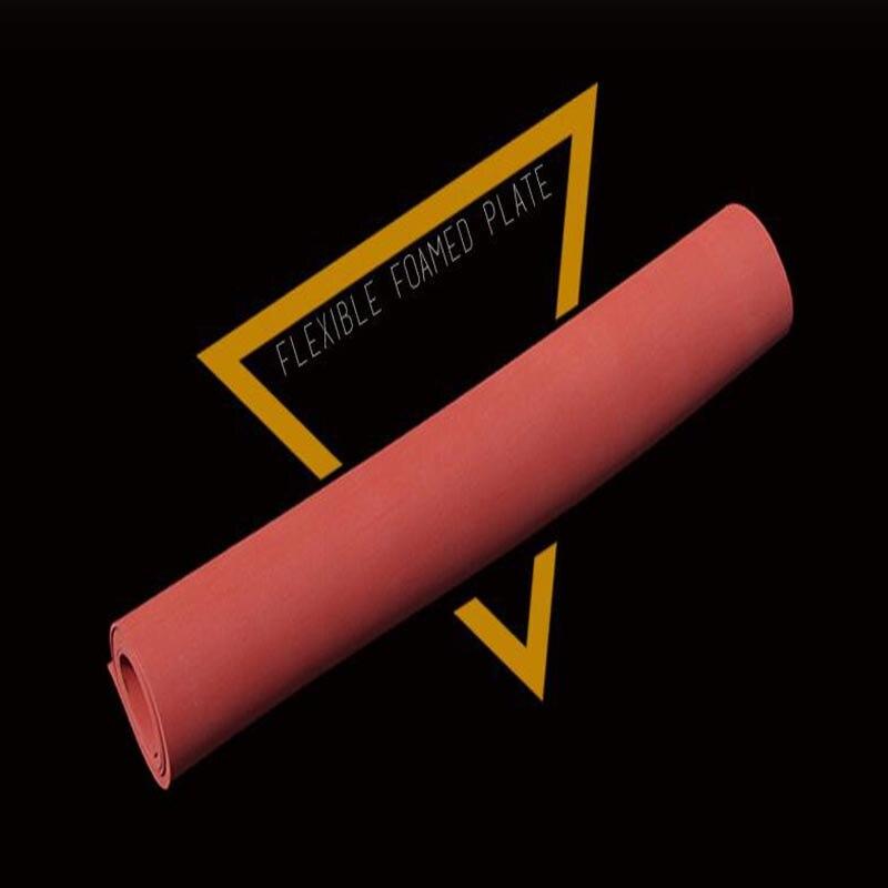 Free shipping 500x600x20mm silicone sponge rubber sheet
