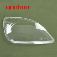 Transparent Lampshade Lamp Shade Front Headlight Shell For Chery Tiggo 3 2005 2009 2pcs