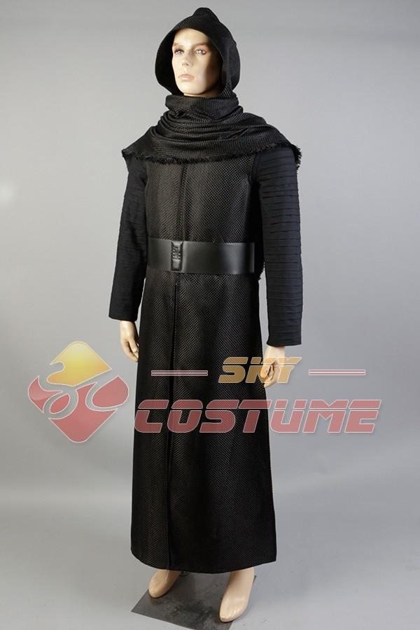 Nieuwe Star Wars 7: The Force Awakens Kylo Ren Uniform Manteljas - Carnavalskostuums - Foto 3