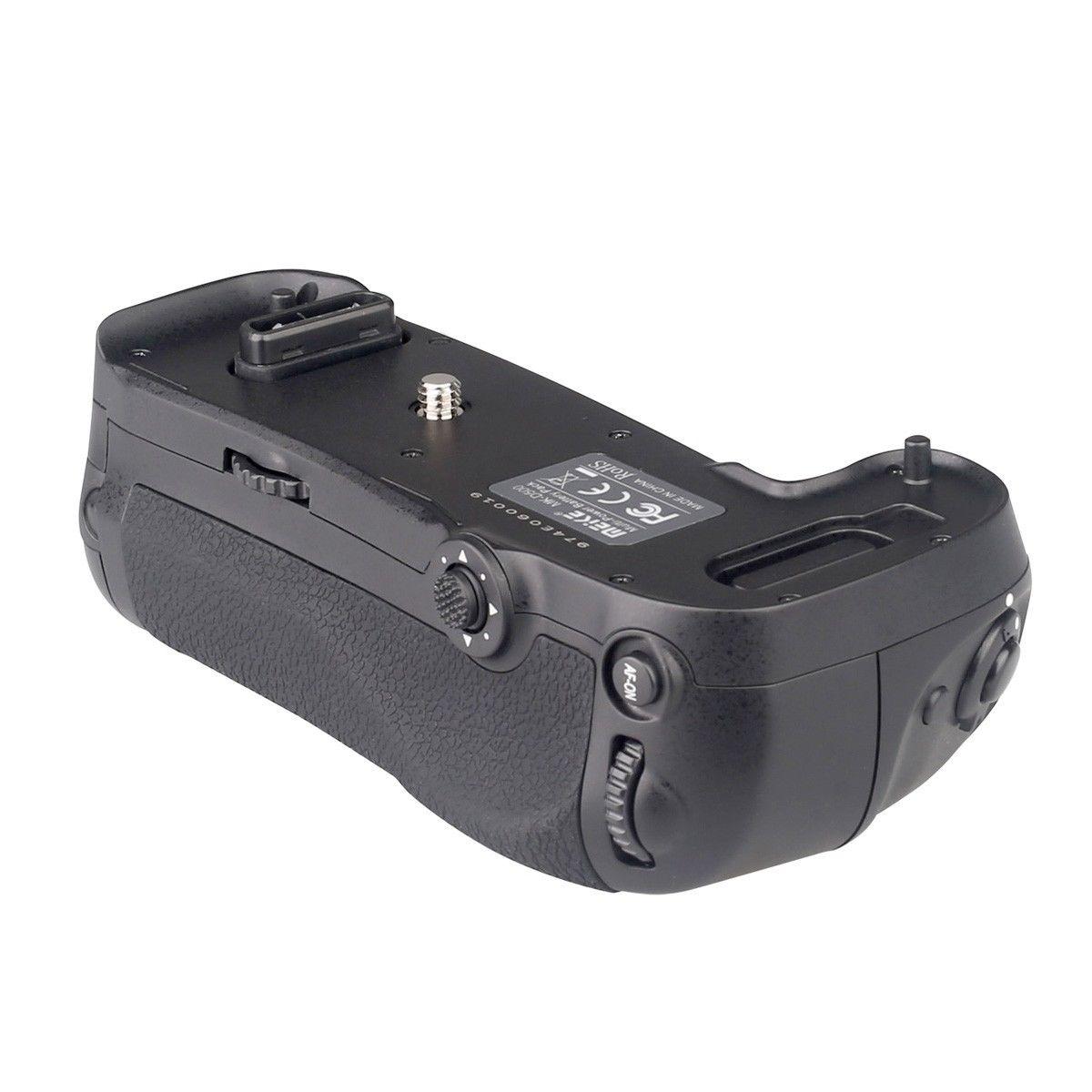 D17 Vertical Battery Grip hand pack holder for Nikon d500 EN-EL15 DSLR camera MB-D17 meike mk d500 vertical battery grip for nikon d500 as mb d17 for pixel vertax d17 2 pcs en el15 battery dual charger
