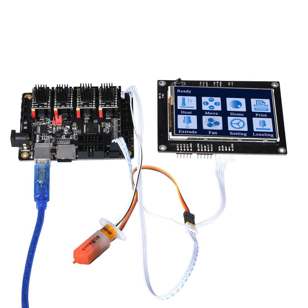 BIGTREETECH SKR mini V1.1 32 bits Placa de Control ARM CPU 32 bits 3D, piezas de impresora TMC2130 SPI TMC2208 A4988 controlador Reprap MKS GEN L