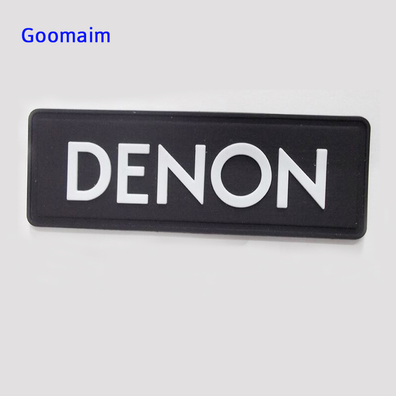 custom 3D PVC patch in Patches private label PVC label in garment labels sew on bags customized name in Patches from Home Garden