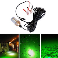 30W Fishing Lure Light LED Submersible Night Fishing Light for Sea Boat WWO66