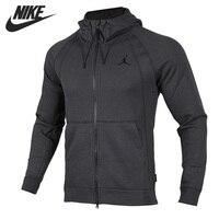 Оригинальный Новое поступление 2017 Nike как JSW крылья Fleece FZ Для мужчин куртка с капюшоном Спортивная