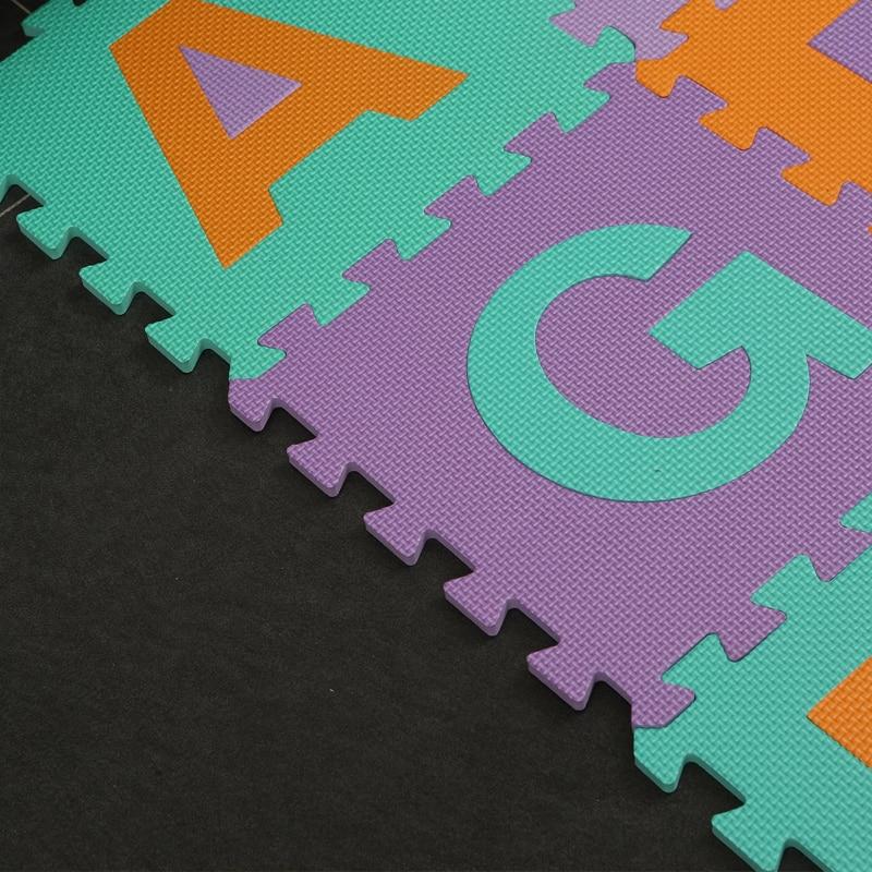 26 pièces/ensemble enfants tapis Puzzle bambin jouets Eva mousse bébé Gym tapis sol souple jouet éducatif enfant tapis tapis de développement - 4