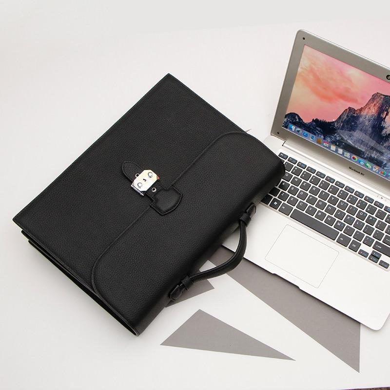 Business Echte Kapazität Einfache Große Black Handtasche khaki Tasche Rindsleder Laptop Aktentasche Leder Männer qCBnB5t