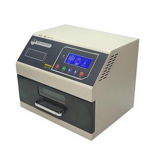 Image 3 - LY 962 Digital Display SMD SMT Reflow Oven Programmable Mini Reflow Soldering Oven 700W 110V 220V