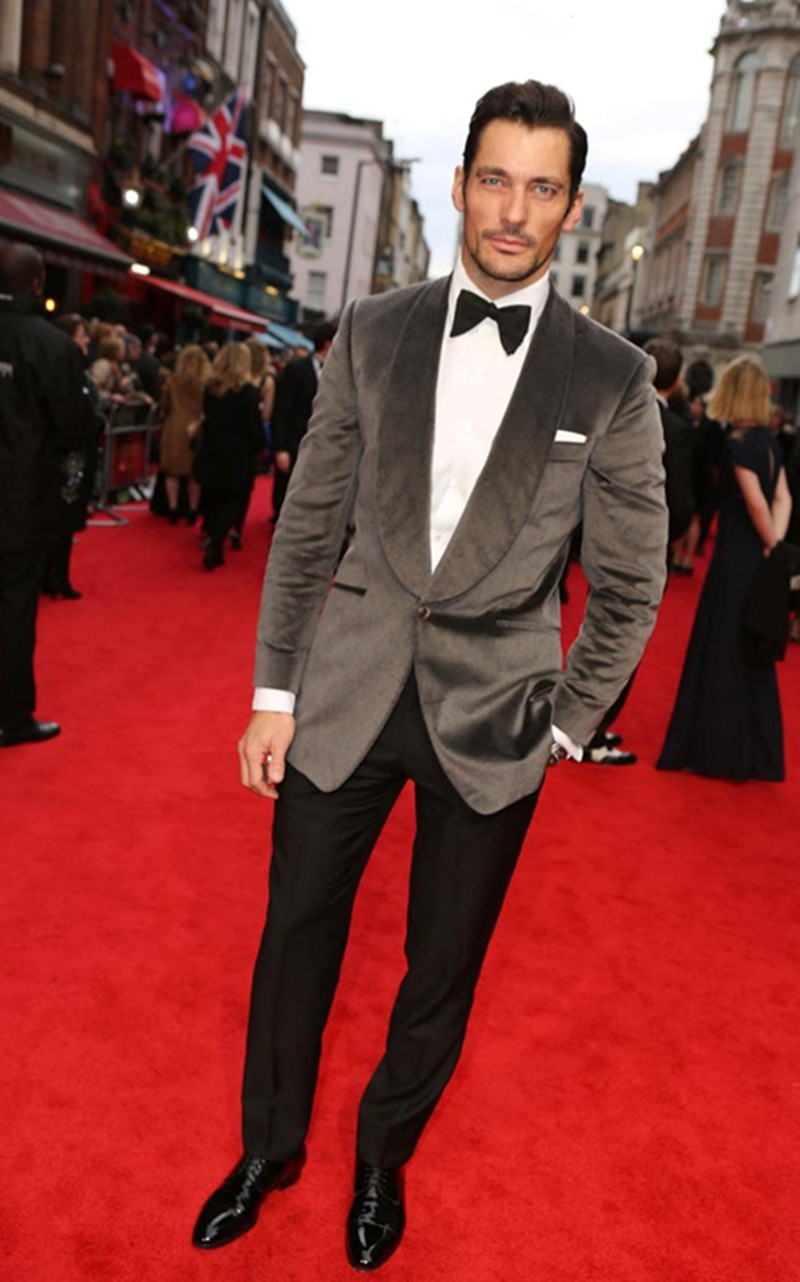 Black Suit Red Carpet