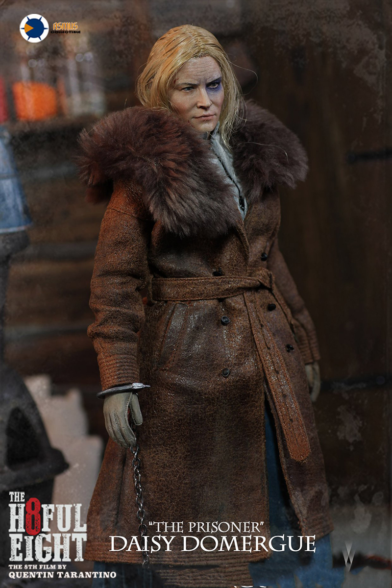 1/6 Collectible Full Set H803The Hateful 8 Series Daisy Domergue Action Figure Model for Fans Collection Gifts