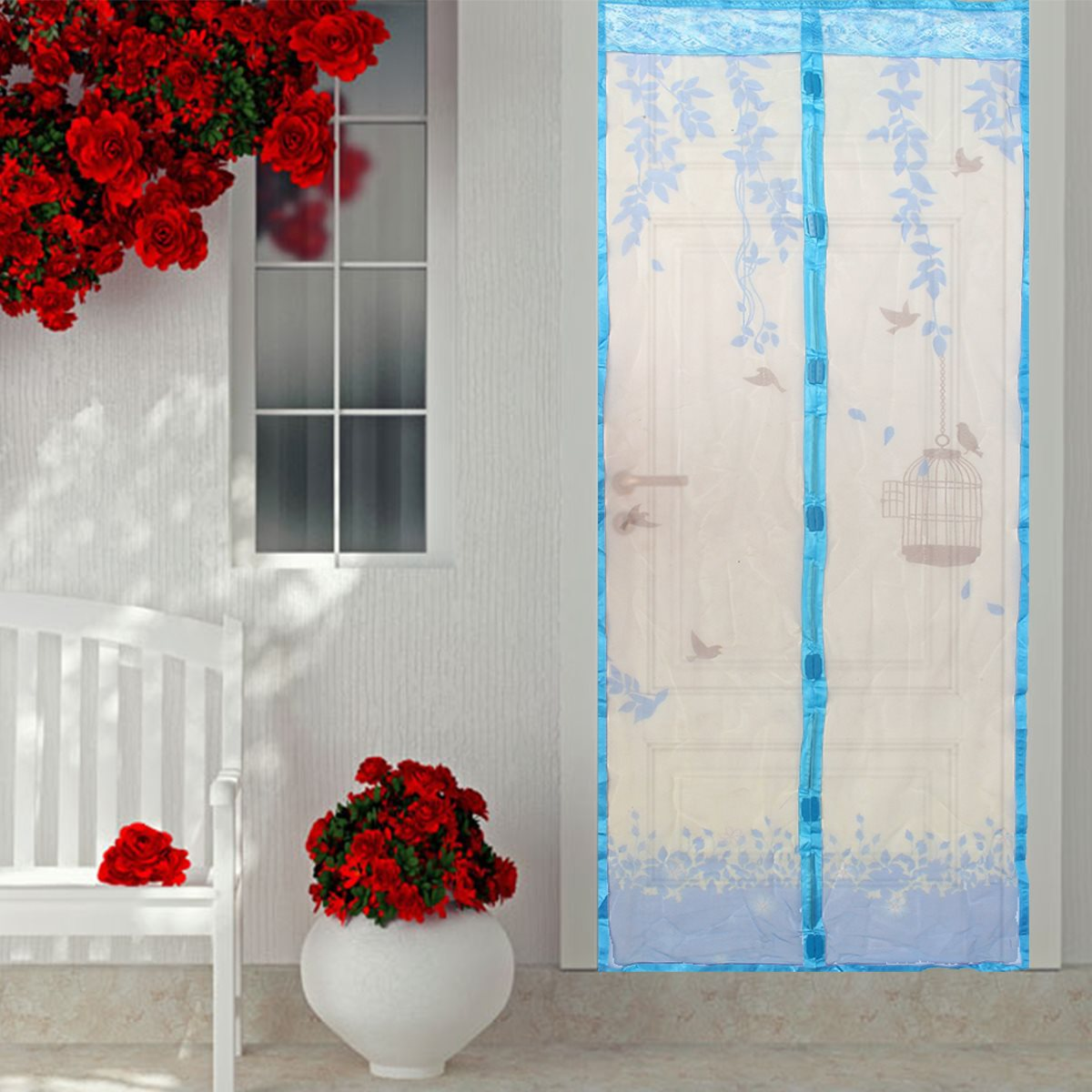 Magnetic Curtains For Doors Online Buy Wholesale Mosquito Screen Curtains From China Mosquito