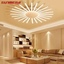 Moderne Kurze Wohnzimmer Lichter LED Blume Deckenleuchte Lamparas De Techo Schlafzimmer Kreative Acryl Deckenbeleuchtung