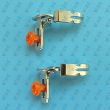 2PCS Singer 221 Featherweight Left Right Zipper Cording Piping Adjustable Foot Feet # 551