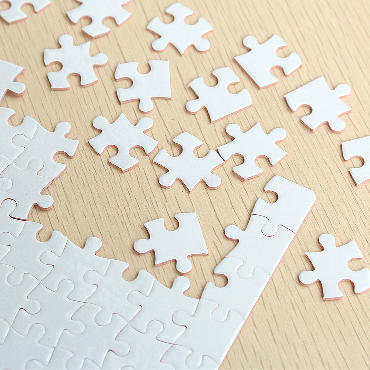 A4 DIY Blank Dye Sublimation Printable Jigsaw Puzzle For Heat Press Machine  Transfer Sublimate Create for Promotional Product