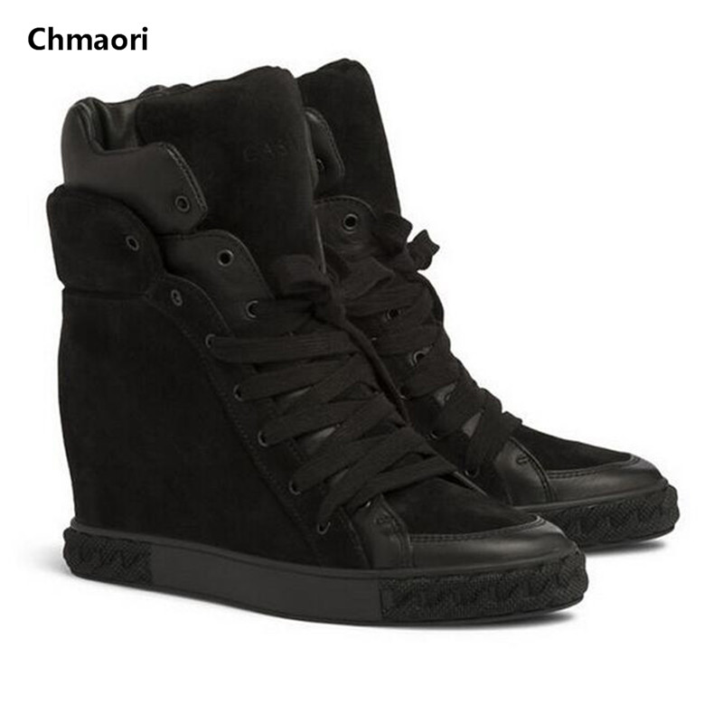 Size 35-42 Autumn Winter Women Flat Ankle Boots Sexy Footwear Snow Boots Lace-Up Warm Snow Boots Suede Leather Women Flat Shoes
