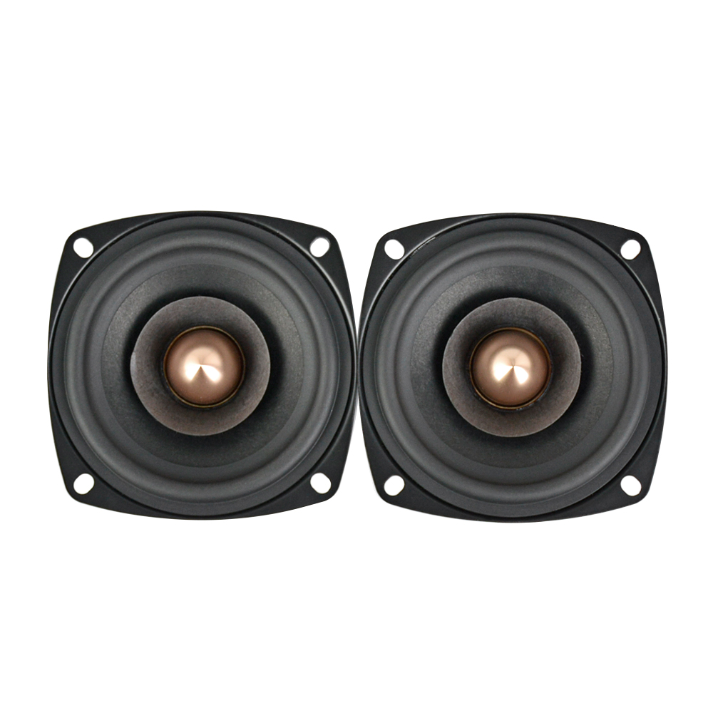 AIYIMA 2 PC 3 Pouces Audio Haut-Parleur 4Ohm 8Ohm 15 W haut-parleur large bande HIFI Aigus Mediant haut-parleur de basses bricolage - 2